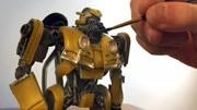 大黄蜂黄色变形金刚超级英雄潜入检测盒