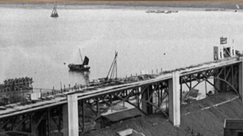 钱塘江大桥风云录 建成89天茅以升毅然炸桥