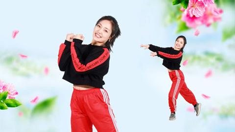 糖豆广场舞课堂《陪你千山万水》简单动感网红舞教学